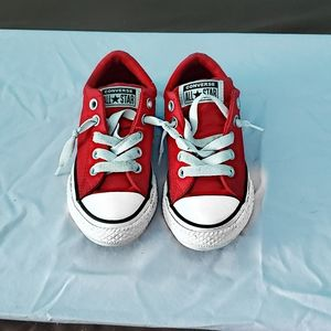 Boys Converse All Star Low Top Sneakers